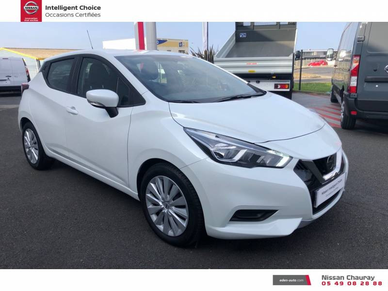 Nissan Micra BUSINESS 2019 EVAPO IG-T 100 Edition Blanc occasion à Chauray - photo n°20