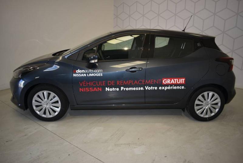 Nissan Micra Micra IG-T 100 Xtronic Acenta 5p Gris occasion à Limoges - photo n°2