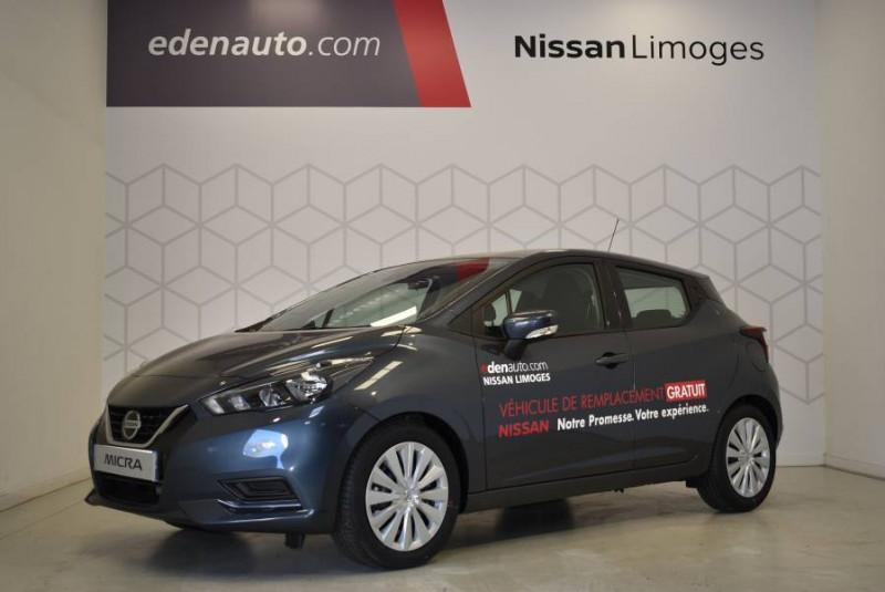 Nissan Micra Micra IG-T 100 Xtronic Acenta 5p Gris occasion à Limoges