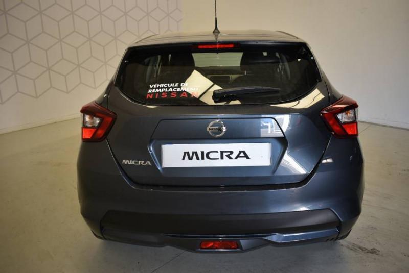 Nissan Micra Micra IG-T 100 Xtronic Acenta 5p Gris occasion à Limoges - photo n°3