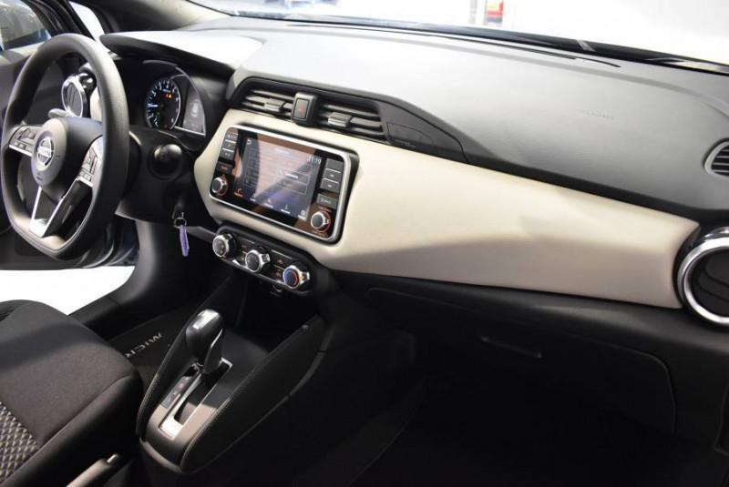 Nissan Micra Micra IG-T 100 Xtronic Acenta 5p Gris occasion à Limoges - photo n°7