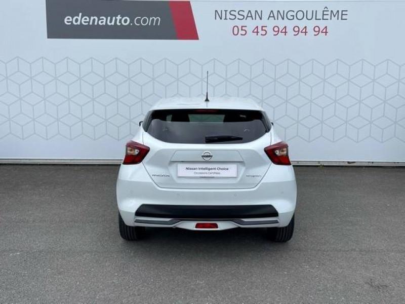 Nissan Micra Micra IG-T 92 N-Sport 5p Blanc occasion à Champniers - photo n°8