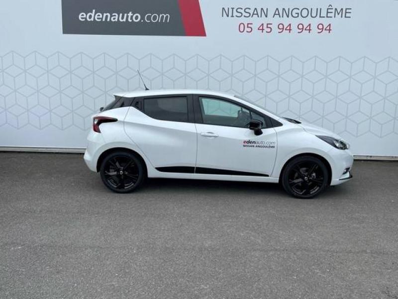 Nissan Micra Micra IG-T 92 N-Sport 5p Blanc occasion à Champniers - photo n°4