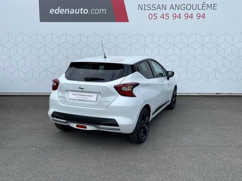 Nissan Micra Micra IG-T 92 N-Sport 5p Blanc occasion à Champniers - photo n°10
