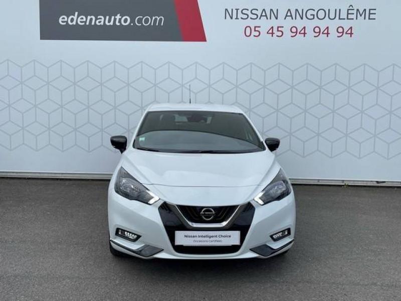 Nissan Micra Micra IG-T 92 N-Sport 5p Blanc occasion à Champniers - photo n°5