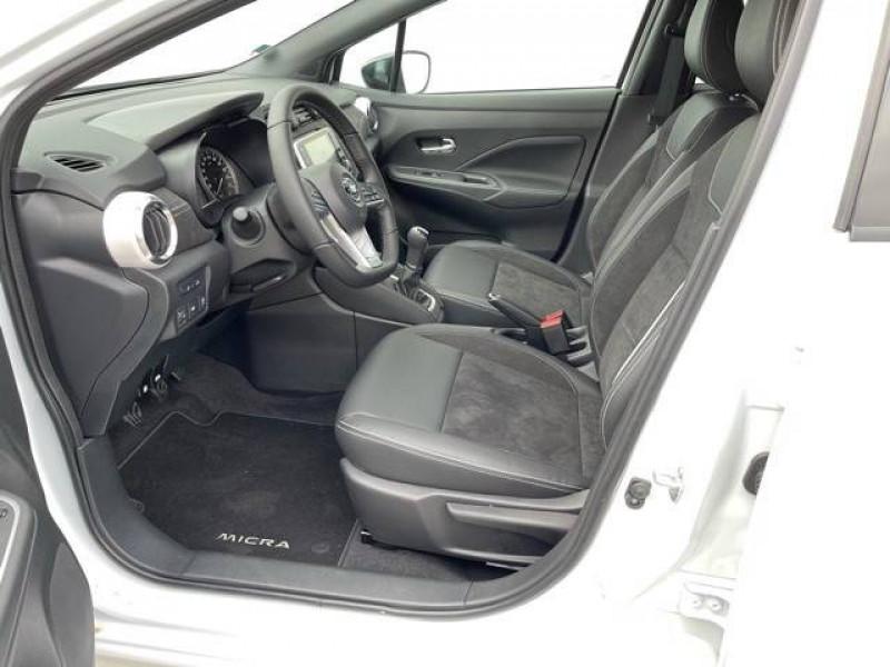 Nissan Micra Micra IG-T 92 N-Sport 5p Blanc occasion à Champniers - photo n°6