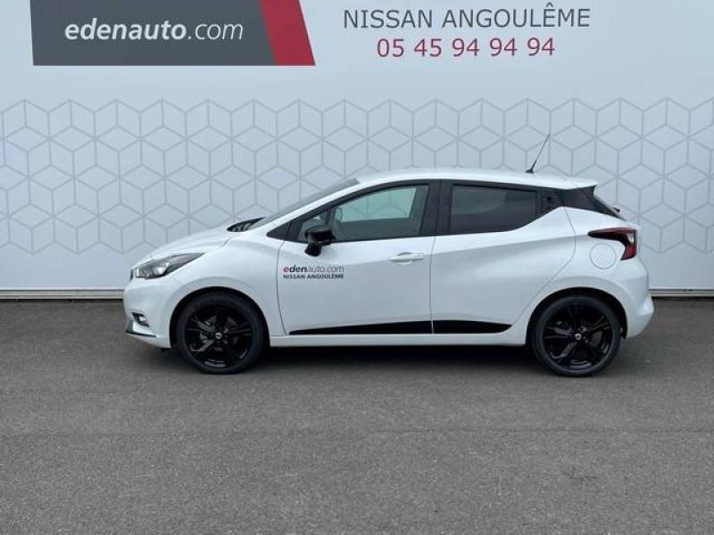 Nissan Micra Micra IG-T 92 N-Sport 5p Blanc occasion à Champniers - photo n°2