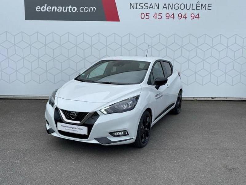 Nissan Micra Micra IG-T 92 N-Sport 5p Blanc occasion à Champniers