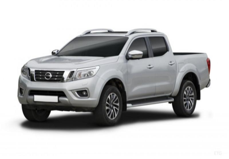 Nissan Navara 2.3 dCi 190ch Double-Cab N-Connecta 2018 BVA Blanc occasion à NOISIEL