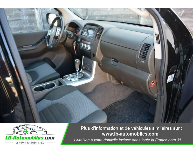 Nissan Navara 2.5 DCI 190 DOUBLE CABINE LB Noir occasion à Beaupuy - photo n°2