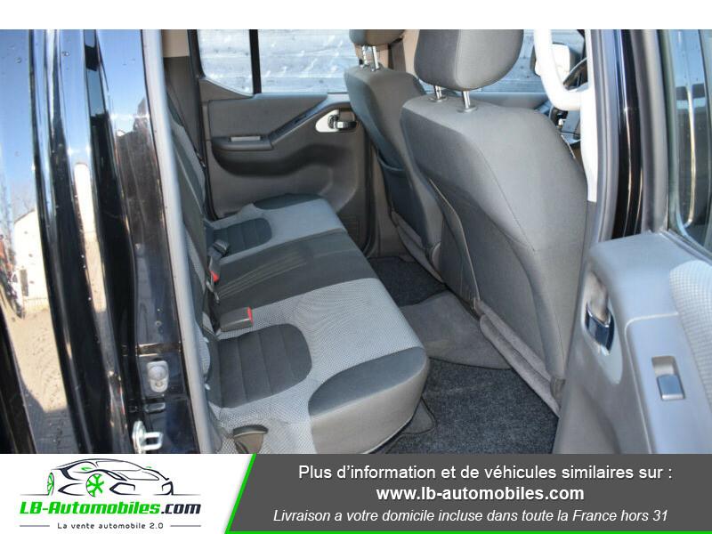Nissan Navara 2.5 DCI 190 DOUBLE CABINE LB Noir occasion à Beaupuy - photo n°10