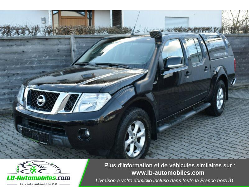 Nissan Navara 2.5 DCI 190 DOUBLE CABINE LB Noir occasion à Beaupuy