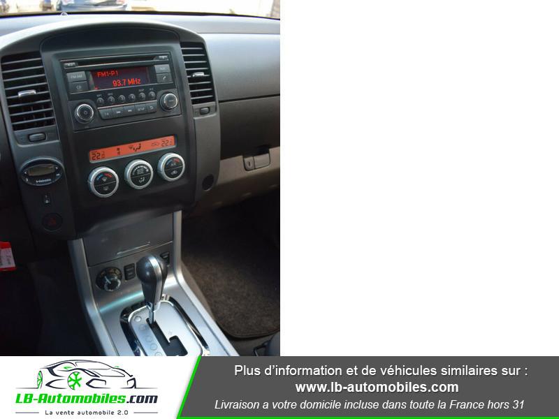 Nissan Navara 2.5 DCI 190 DOUBLE CABINE LB Noir occasion à Beaupuy - photo n°8