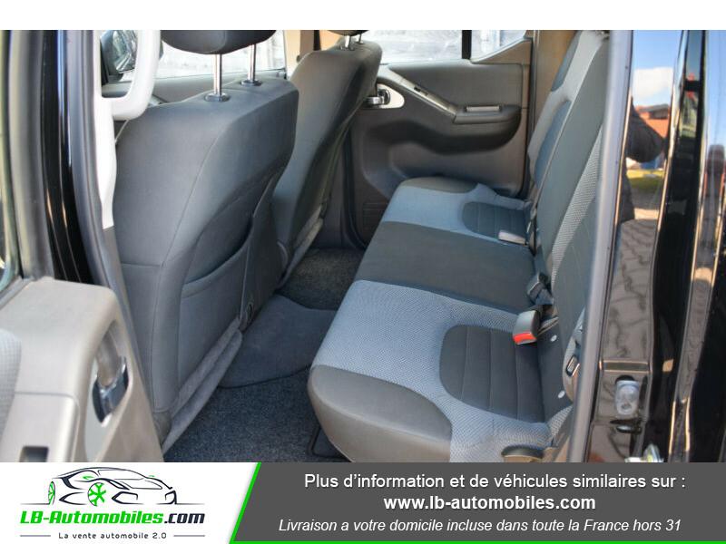 Nissan Navara 2.5 DCI 190 DOUBLE CABINE LB Noir occasion à Beaupuy - photo n°9