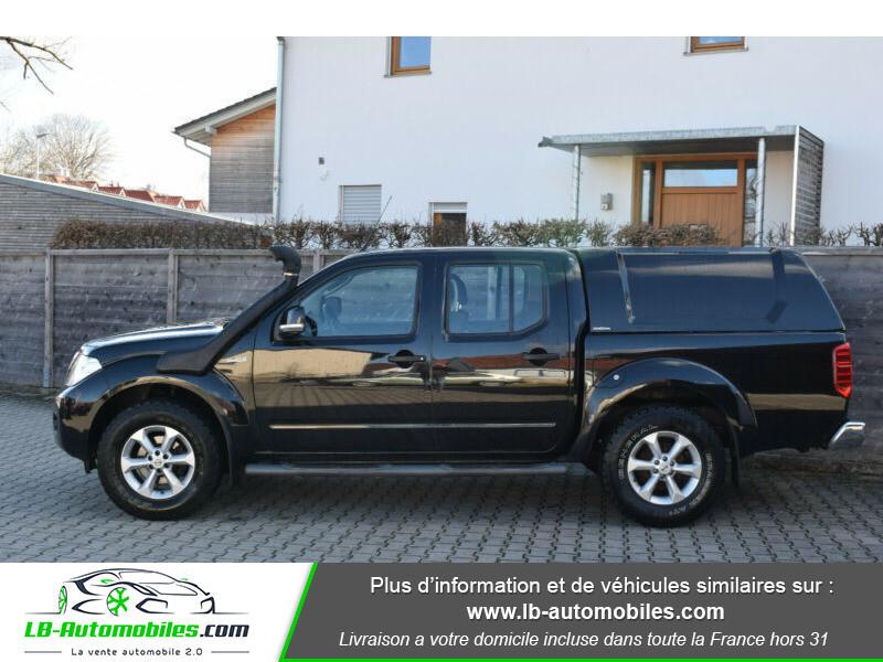 Nissan Navara 2.5 DCI 190 DOUBLE CABINE LB Noir occasion à Beaupuy - photo n°4