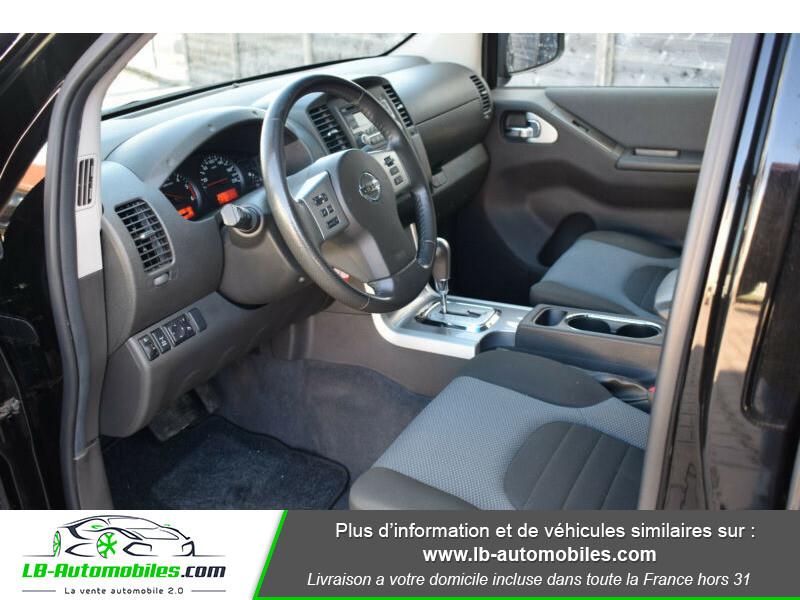Nissan Navara 2.5 DCI 190 DOUBLE CABINE LB Noir occasion à Beaupuy - photo n°7