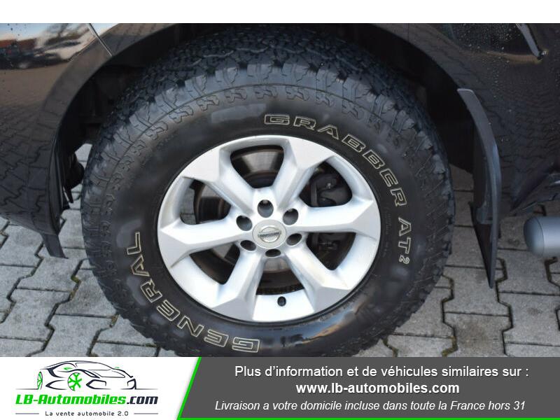 Nissan Navara 2.5 DCI 190 DOUBLE CABINE LB Noir occasion à Beaupuy - photo n°6