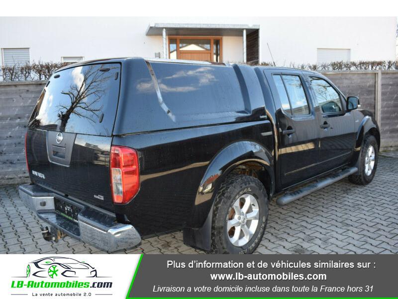 Nissan Navara 2.5 DCI 190 DOUBLE CABINE LB Noir occasion à Beaupuy - photo n°3