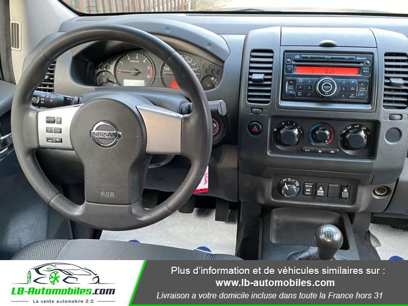 Nissan Navara 2.5 DCI 190 DOUBLE CABINE LB Bleu occasion à Beaupuy - photo n°6