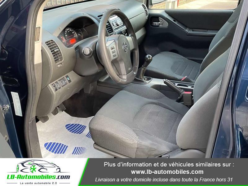 Nissan Navara 2.5 DCI 190 DOUBLE CABINE LB Bleu occasion à Beaupuy - photo n°4