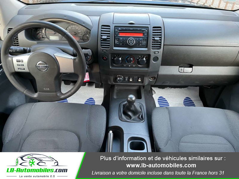 Nissan Navara 2.5 DCI 190 DOUBLE CABINE LB Bleu occasion à Beaupuy - photo n°2
