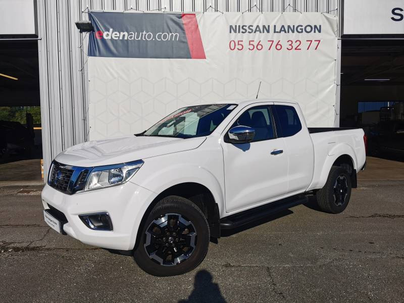 Nissan Navara 2019 EURO6D-TEMP 2.3 DCI 160 KING CAB N-CONNECTA Blanc occasion à Langon