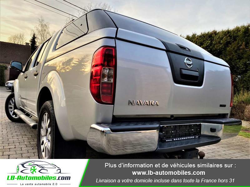 Nissan Navara 3.0 V6 231 / Double Cab A Argent occasion à Beaupuy - photo n°8