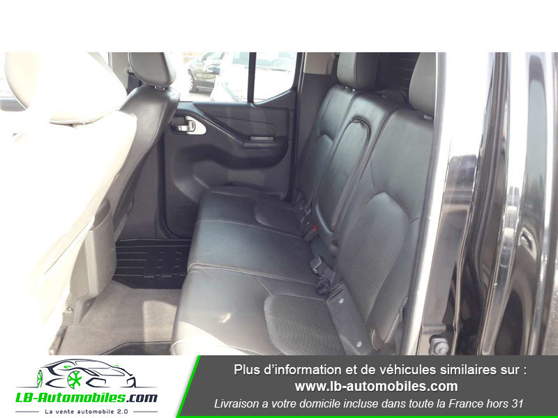 Nissan Navara 3.0 V6 231 / Double Cab A Noir occasion à Beaupuy - photo n°5