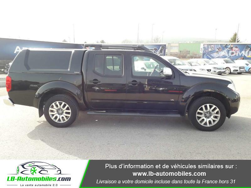 Nissan Navara 3.0 V6 231 / Double Cab A Noir occasion à Beaupuy - photo n°7