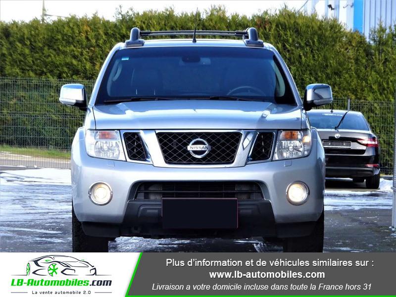 Nissan Navara 3.0 V6 231 / Double Cab A Argent occasion à Beaupuy - photo n°10