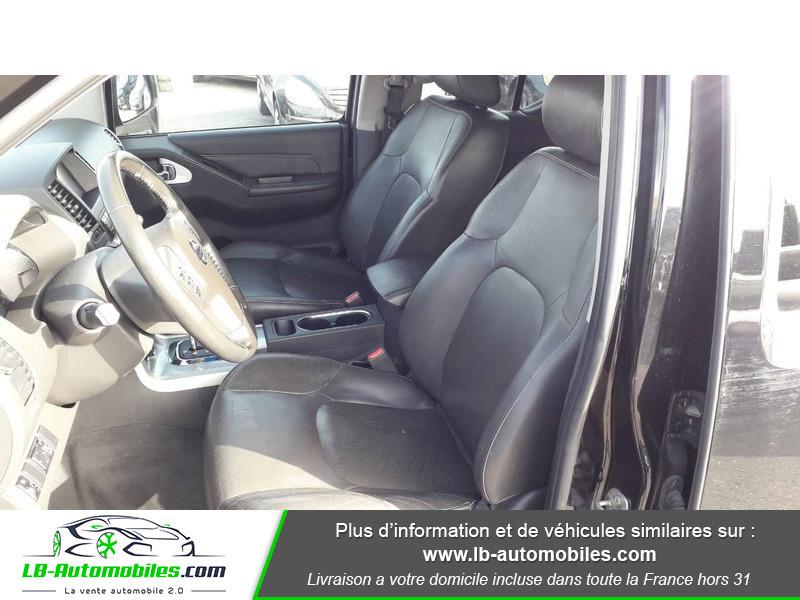 Nissan Navara 3.0 V6 231 / Double Cab A Noir occasion à Beaupuy - photo n°4