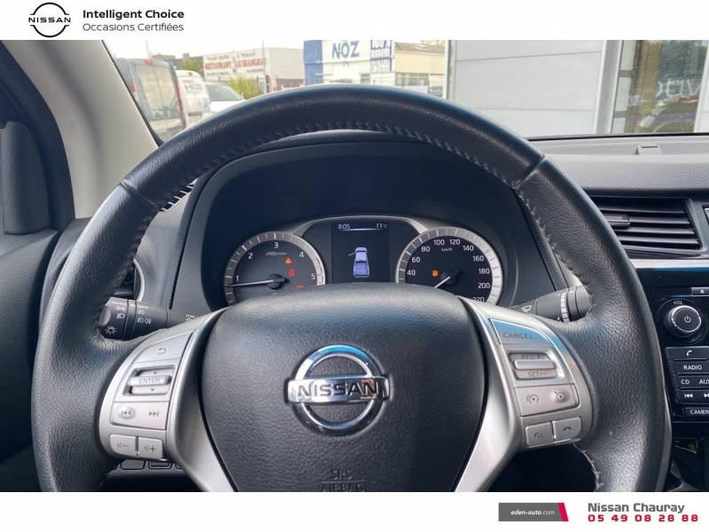 Nissan Navara NP300 2.3 DCI 160 KING CAB TEKNA Blanc occasion à Chauray - photo n°9