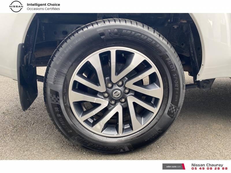 Nissan Navara NP300 2.3 DCI 160 KING CAB TEKNA Blanc occasion à Chauray - photo n°15