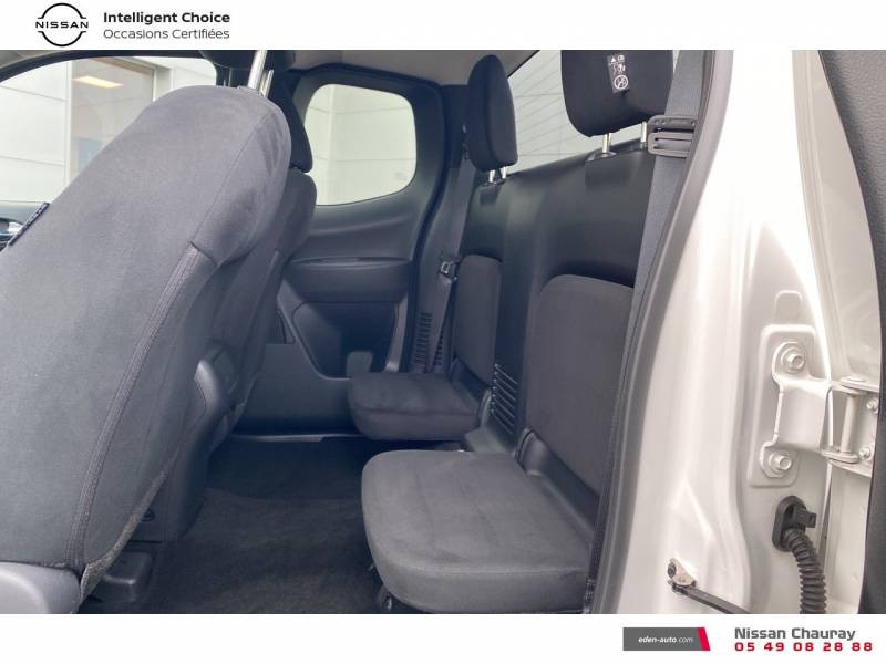 Nissan Navara NP300 2.3 DCI 160 KING CAB TEKNA Blanc occasion à Chauray - photo n°12