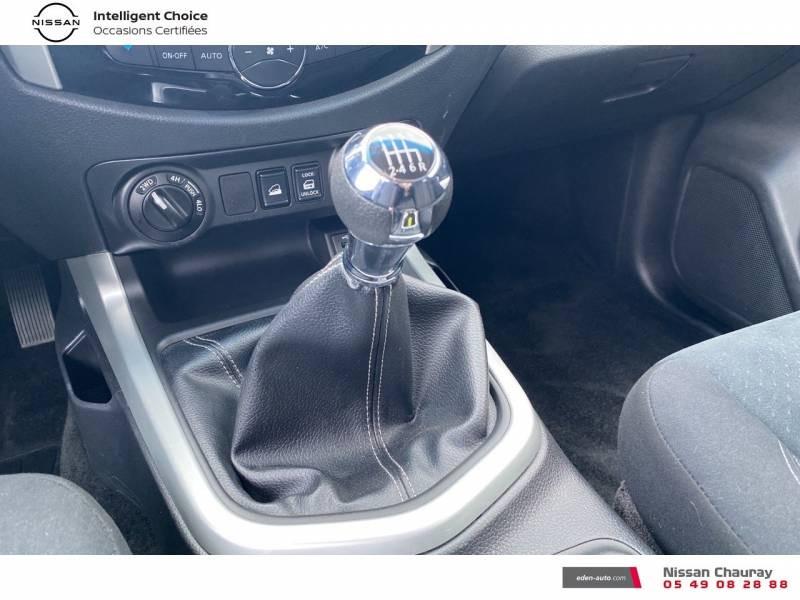 Nissan Navara NP300 2.3 DCI 160 KING CAB TEKNA Blanc occasion à Chauray - photo n°10