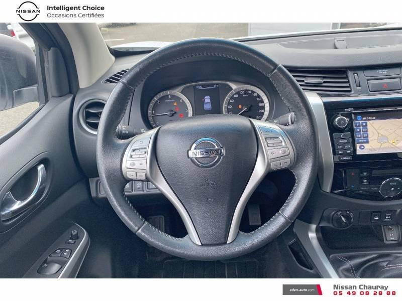 Nissan Navara NP300 2.3 DCI 160 KING CAB TEKNA Blanc occasion à Chauray - photo n°7