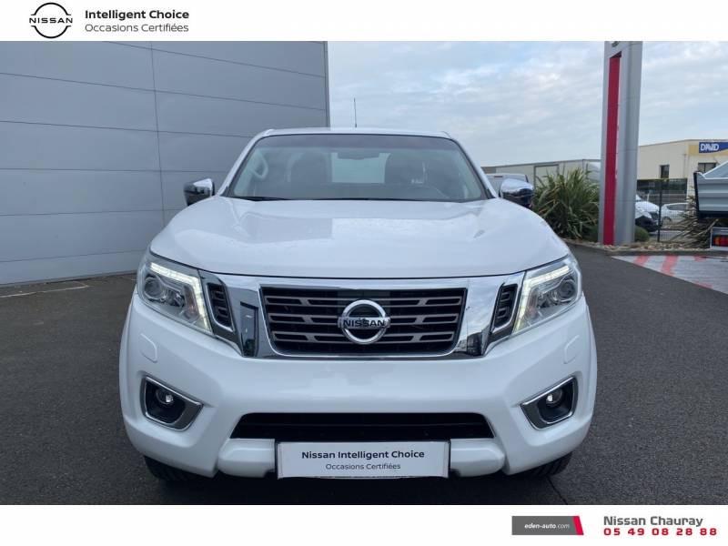 Nissan Navara NP300 2.3 DCI 160 KING CAB TEKNA Blanc occasion à Chauray - photo n°5