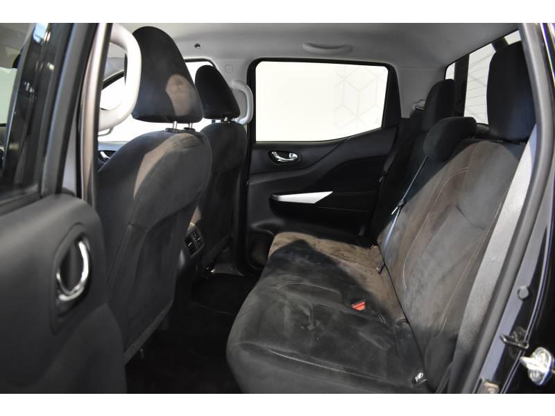 Nissan Navara NP300 2.3 DCI 190 DOUBLE CAB BVA7 TREK-1° Noir occasion à Limoges - photo n°8