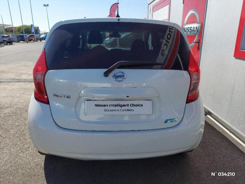 Nissan Note 1.5 dCi 90ch Connect Family 360 Blanc occasion à Évreux - photo n°3