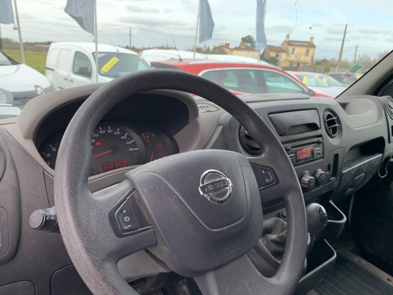 Nissan NV400 FOURGON L2H2 3.3T 2.3 DCI TT 145 S/S OPTIMA Blanc occasion à Langon - photo n°8