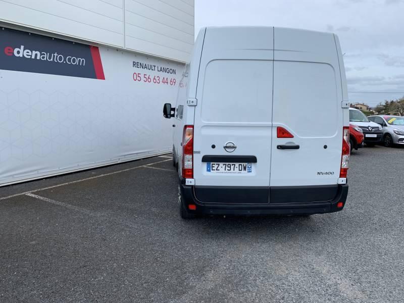 Nissan NV400 FOURGON L2H2 3.3T 2.3 DCI TT 145 S/S OPTIMA Blanc occasion à Langon - photo n°4
