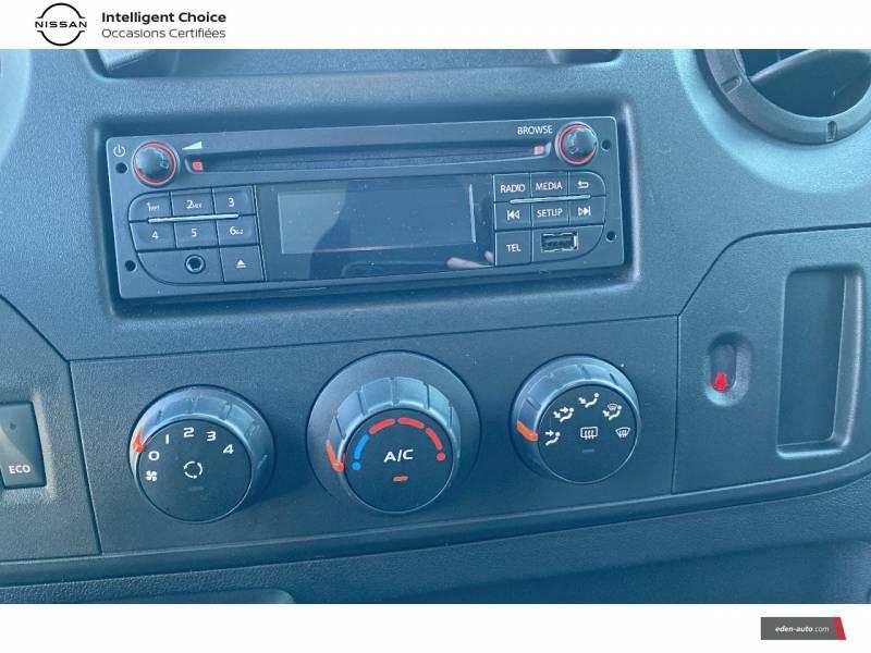 Nissan NV400 FOURGON L2H2 3.3T 2.3 DCI TT 145 S/S OPTIMA Blanc occasion à Chauray - photo n°11