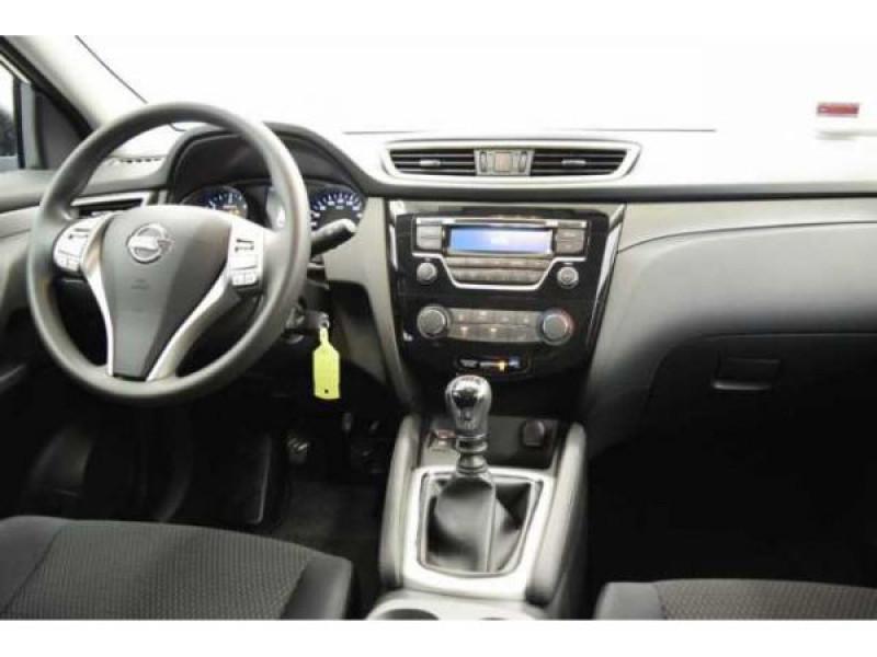 Nissan Qashqai 1.2 DIG-T 115 CH Visia Blanc occasion à Beaupuy - photo n°5