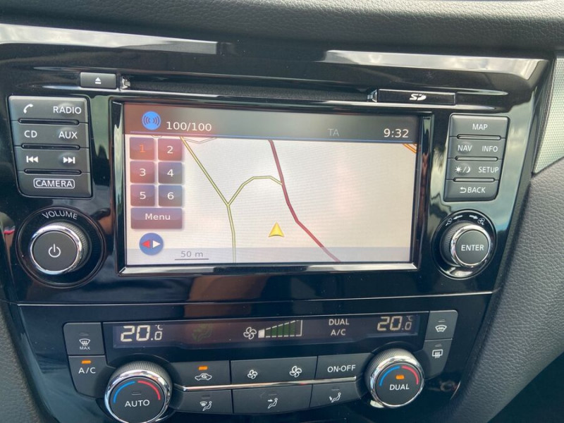 Nissan Qashqai 1.2 DIG-T 115 N-CONNECTA TOIT PANO FULL LED Blanc occasion à Montauban - photo n°13