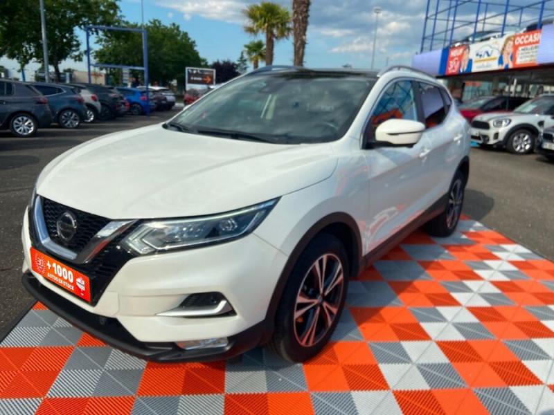 Nissan Qashqai 1.2 DIG-T 115 N-CONNECTA TOIT PANO FULL LED Blanc occasion à Montauban