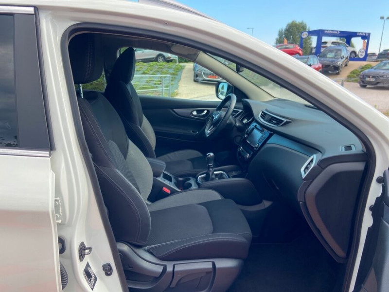 Nissan Qashqai 1.2 DIG-T 115 N-CONNECTA TOIT PANO FULL LED Blanc occasion à Montauban - photo n°7