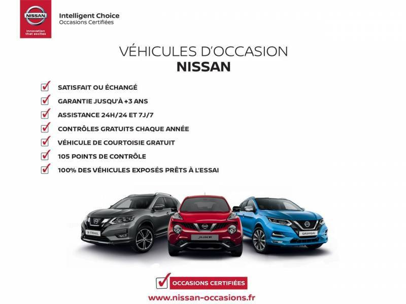 Nissan Qashqai 1.2 DIG-T 115 N-Connecta Rouge occasion à Champniers - photo n°17