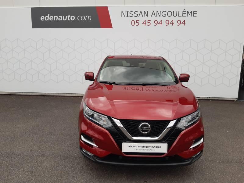 Nissan Qashqai 1.2 DIG-T 115 N-Connecta Rouge occasion à Champniers - photo n°5