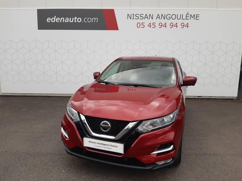 Nissan Qashqai 1.2 DIG-T 115 N-Connecta Rouge occasion à Champniers