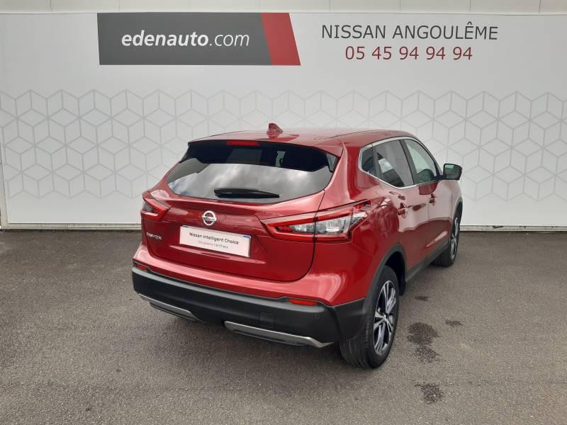 Nissan Qashqai 1.2 DIG-T 115 N-Connecta Rouge occasion à Champniers - photo n°14